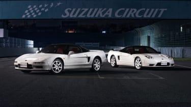 Honda NSX auction: 1995 NSX Type-R (92R) & 2005 NSX-R (02R)