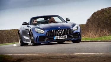 Mercedes-AMG GT R Roadster - 2021 front cornering