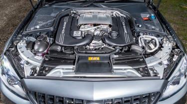 Mercedes-AMG C63 S Estate 2021 – engine