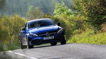 Mercedes-AMG C63 S Coupé - Front