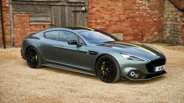 Aston Martin Rapide AMR side static