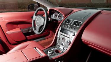 2013 Aston Martin Rapide S interior dashboard