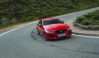 Jaguar XE 300 Sport - front quarter