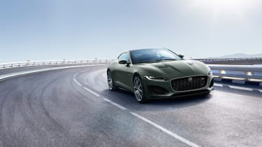 Jaguar F-type Heritage 60 Edition - front