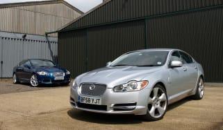Jaguar SV8 and XFR