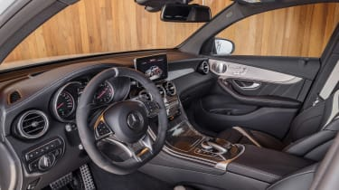 Mercedes-AMG GLC 63 Coupe interior