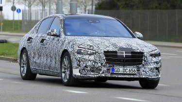 Mercedes S-Class 2020 - front quarter