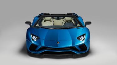 Lamborghini Aventador S Roadster - front