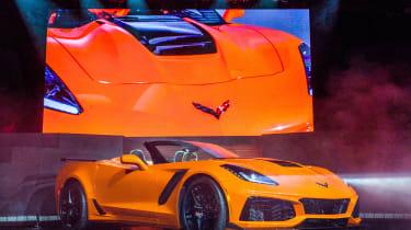 Chevrolet Corvette ZR1 convertible – front quarter