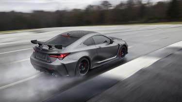 Lexus RC F Track Edition - rear quarter