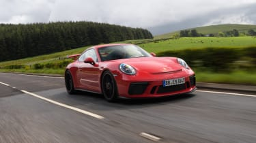 Porsche 911 GT3 manual - front tracking