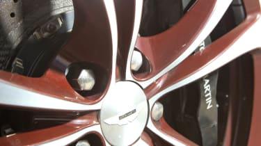 Aston Martin V12 Vantage Roadster red trim alloy wheel
