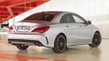 2013 Mercedes-Benz CLA250 rear view
