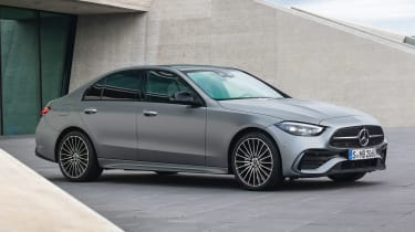 2021 Mercedes C-class revealed - front static