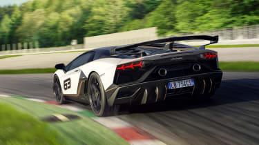 Lamborghini Aventador SVJ - rear quarter