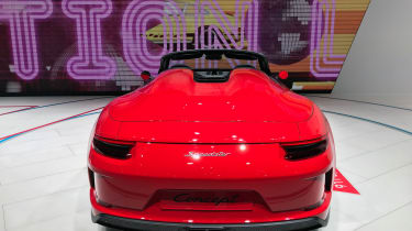 Porsche 911 Speedster - rear