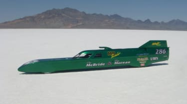 evo goes for 300mph record