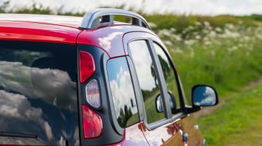 Fiat Panda Cross - Rear light