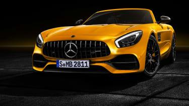 Mercedes-AMG GT S Roadster – front