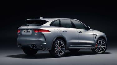 Jaguar F-Pace SVR - studio rear