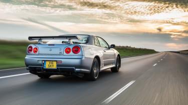 Nissan GT-R R34 - rear