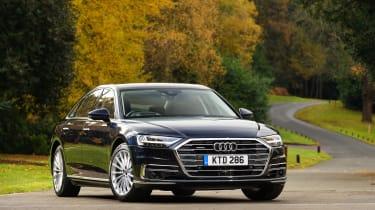 Audi A8 – front quarter
