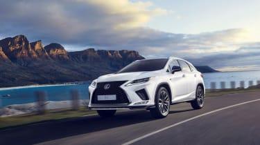 Lexus RX image facelift