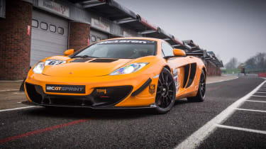 McLaren 12C GT Sprint orange