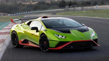 Lamborghini Huracan STO (International) – front quarter static