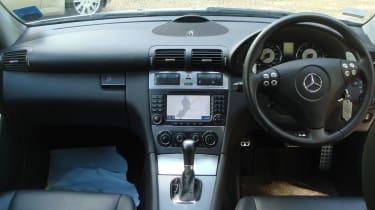 Mercedes C55 AMG interior