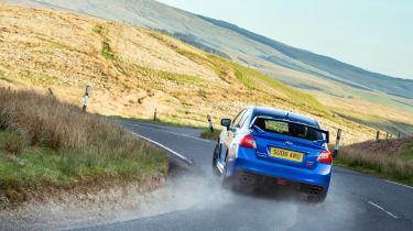 Subaru WRX STI Final Edition - rear tracking