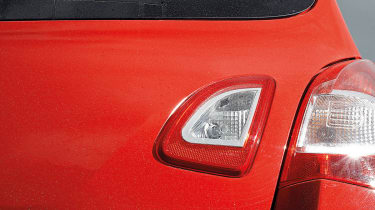 2012 Renaultsport Twingo 133 rear badge light