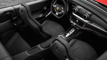 Ferrari Portofino - interior 1
