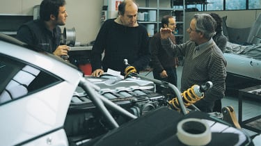 Harry and Horacio Pagani discuss the options