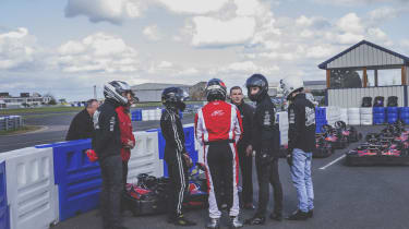 Overclockers UK Racing Series - Palmer Sport go-karting