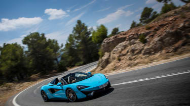 Mclaren 570S Spider 2017 review
