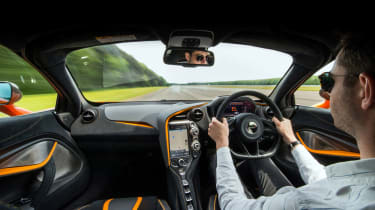 DMS McLaren 720S - interior