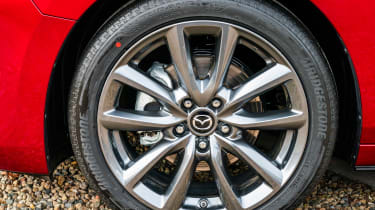 2019 Mazda 3 wheels