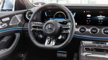 2021 Mercedes CLS53 – steering wheel