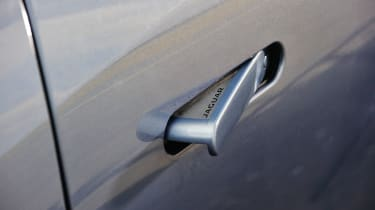 Jaguar F-type V6S door handle