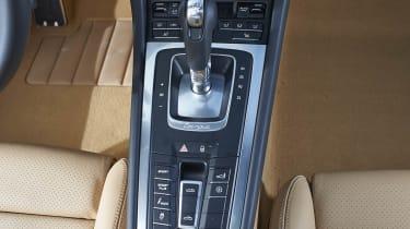 Porsche 911 Targa 4S PDK and roof controls