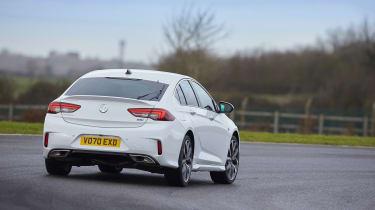 Vauxhall Insignia GSi – track cornering