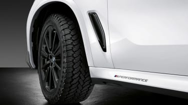 BMW X5 M Performance parts - tyres