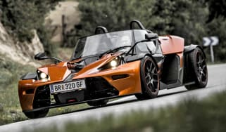 2013 KTM X-Bow GT orange and black