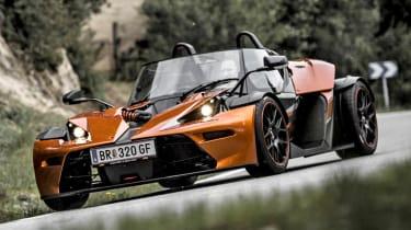 2013 KTM X-Bow GT orange and black