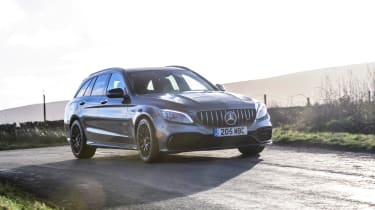 Mercedes-AMG C63 S Estate 2021 – front
