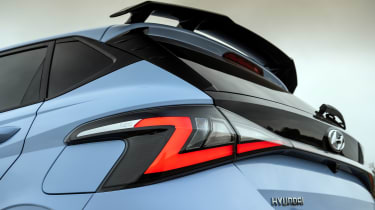 Hyundai i20 N - rear light