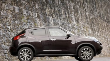 Driven: Nissan Juke Shiro 1.5 dCi side