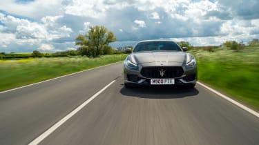 Maserati Quattroporte Trofeo – nose tracking