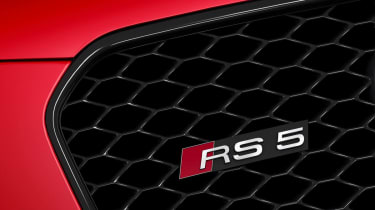 New Audi RS5 coupe grille